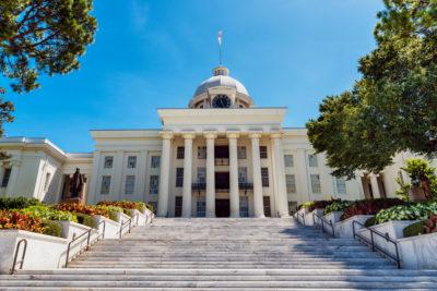 Alabama state capitol - Montgomery