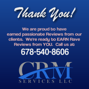 CRM Services Thank You For Reviews