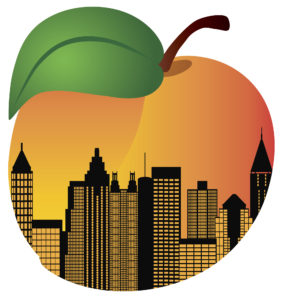 Georgia Peach graphic