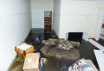 Remove Water From Flooded Basement