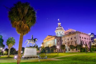 South Carolina capitol - Montgomery